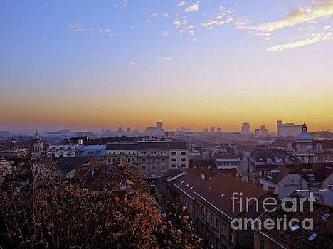 Zagreb Panorama by Jasna Dragun
