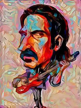 Zappa by Paul Van Scott