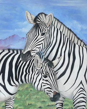 Zebras by Charles Hubbard