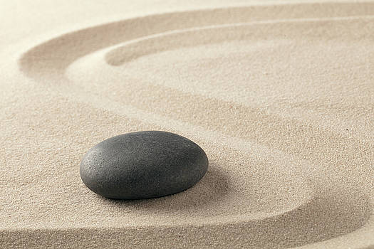 Zen stone by Dirk Ercken