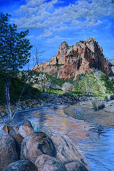 Zion National Park by Vicky Path