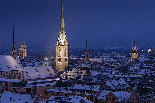Zurich Old Town by Antonio Violi