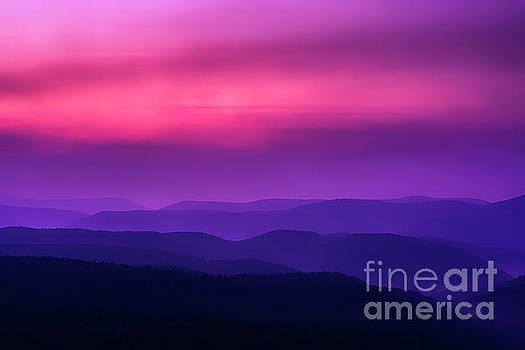 Allegheny Mountain Dawn by Thomas R Fletcher