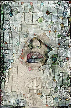 Hidden Face with Lipstick by Amy Cicconi