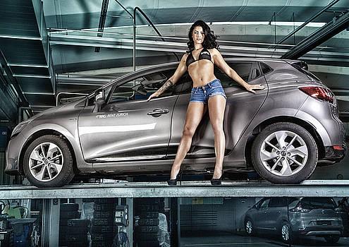 Miss Auto Zuerich - Calendar Image by Rod Meier