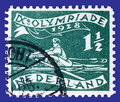 James Hill - Old Dutch Postage Stamp
