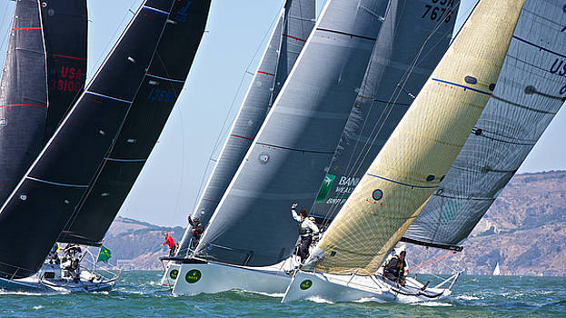 Steven Lapkin - Rolex Big Boat Series Start