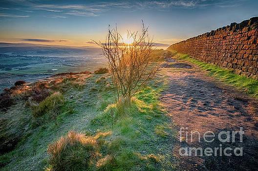 Mariusz Talarek - Sunrise in Cowling on last day of April