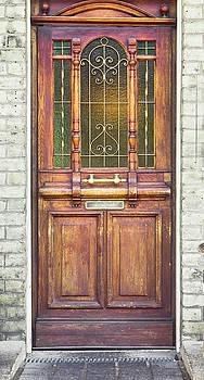 Wooden door by Tom Gowanlock
