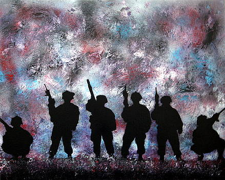 101st Airborne - IRAQ by Kim Lentz