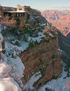 10419 Lookout Studio at Grand Canyon by John Prichard