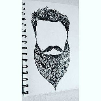 #10 go Get Some Beard👨 #art by Neha Mulherkar