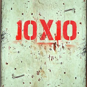 10x10 by April show