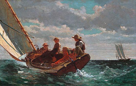 Winslow Homer - Breezing Up
