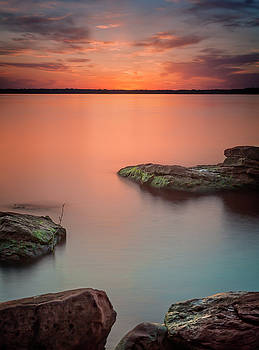 Ricky Barnard - Lake Sunset