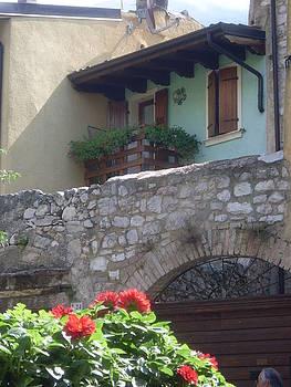 Malcesine Lake Garda Italy by Inga Menn