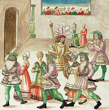 German 16th Century - Masquerade
