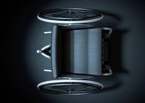 Sports Wheelchair by Allan Swart