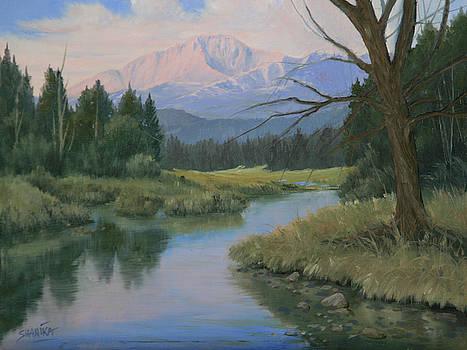110201-912  Manitou Lake Morning by Kenneth Shanika