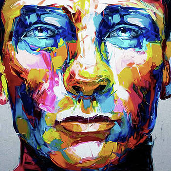 111, Abstract Face by Nixo by Nicholas Nixo