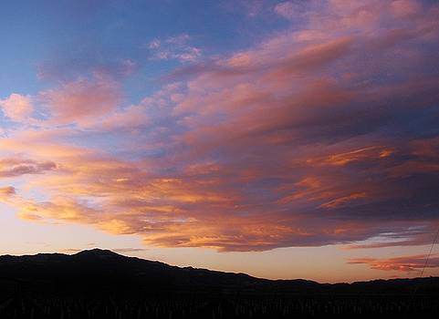 111515 Sunset by Carol Welsh