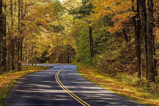 Fall Color Virginia West Virginia by Kevin Blackburn
