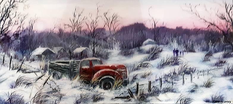 #1120 Distant Memories by Linda Skibinsky