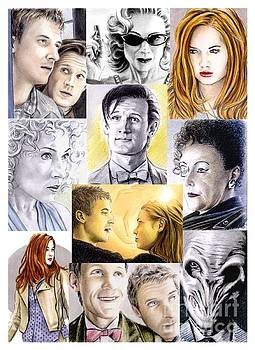 11th Doctor and Company by Wu Wei