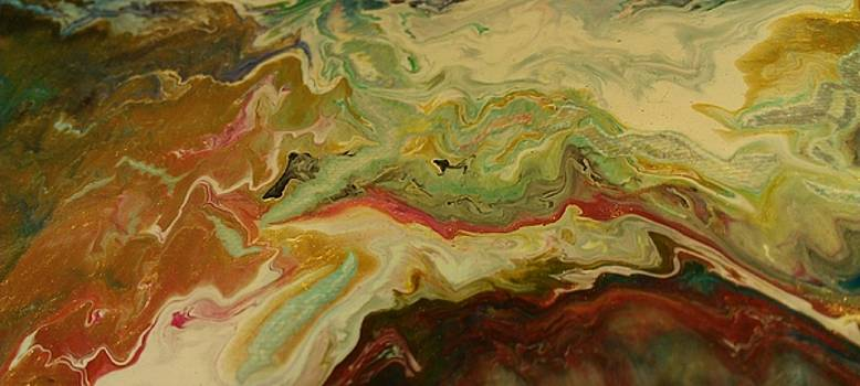 Acrylic Pour by Sonya Wilson
