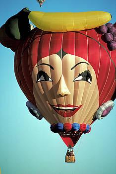 Carmen Miranda Balloon in Albuquerque by Carl Purcell