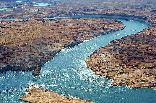 Colorado River near Lake Powell by Carl Purcell