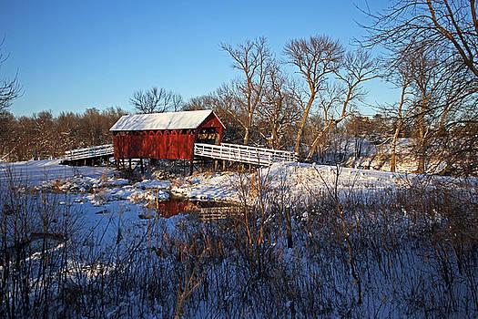 Covered Bridge by Steve Yezek