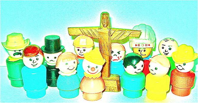 12 Disciples by Ricky Sencion