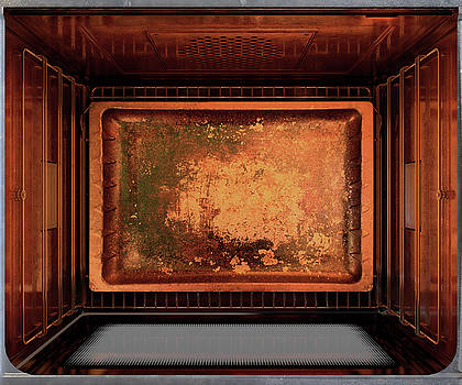 Inside The oven by Allan Swart