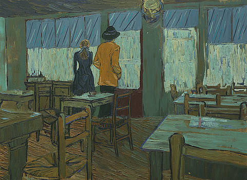 Armand and Adeline in Ravoux-Inn by Shuchi Muley