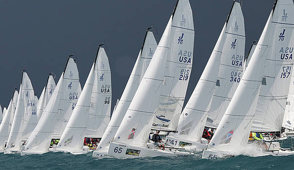 Steven Lapkin - J70 lineup at Key West