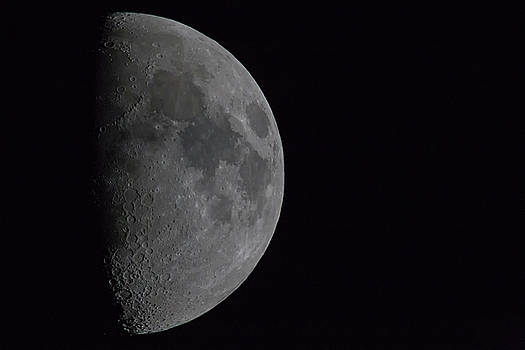 1200mm Moon by Digiblocks Photography