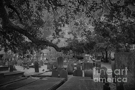 Charleston Haunted Cemetery by Dale Powell