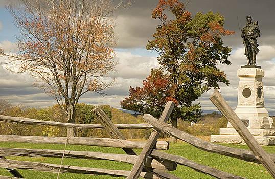 Mick Burkey - 124th Pennsylvania Infantry Monument
