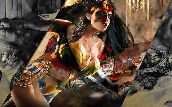 Wonder Woman Art by Marvin Blaine