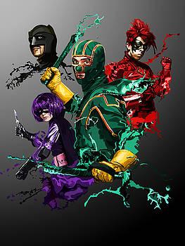 136. We're superheroes You love us by Tam Hazlewood