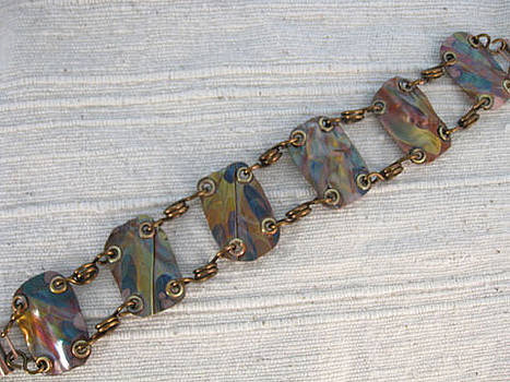 1383 Panel Bracelet by Dianne Brooks