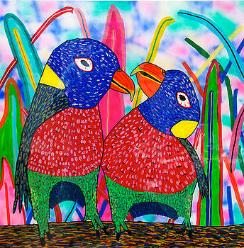 14-12 Tropical Birds by Patrick OLeary