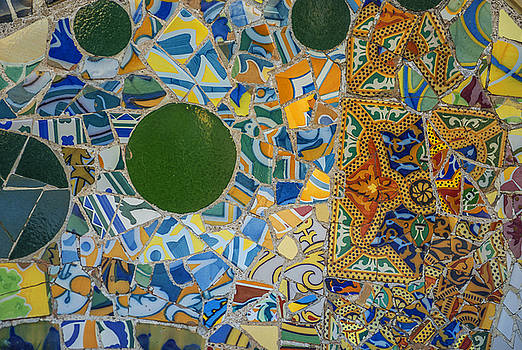 Eduardo Huelin - Abstract colorful mosaic texture background