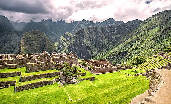 Eduardo Huelin - Inca city Machu Picchu Peru