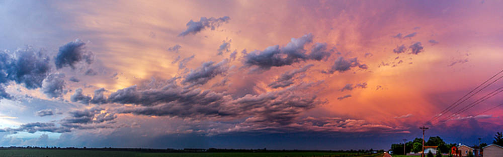 NebraskaSC - Nebraska HP Supercell Sunset