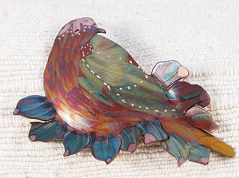 1402 Nesting Bird by Dianne Brooks