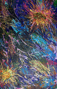 16-4 Space Explosion Canvas by Patrick OLeary