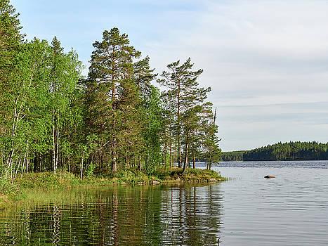 Haukkajarvi by Jouko Lehto