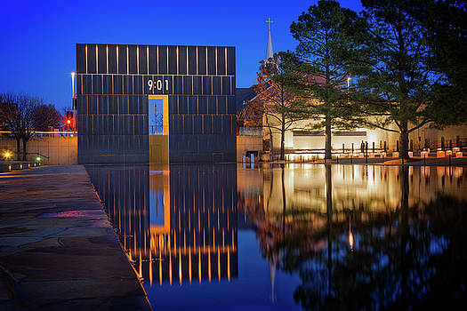 OKC Memorial by Ricky Barnard